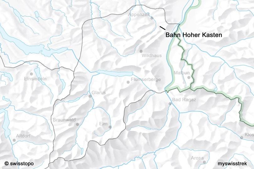 Bahn Hoher Kasten Bei Appenzell Myswisstrek