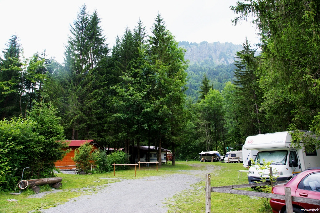 Grand Paradis - Camping bei St. Maurice