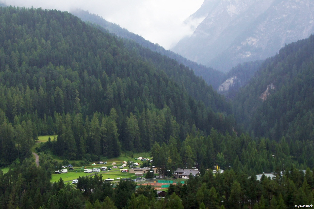 Gurlaina - Camping bei Scuol
